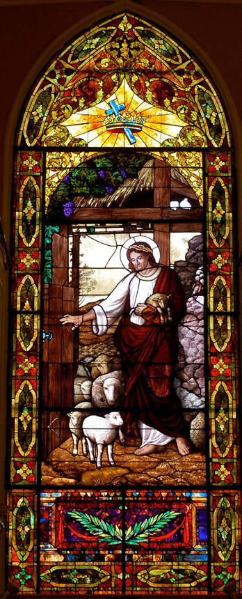 Picture of the Good Shepherd Window